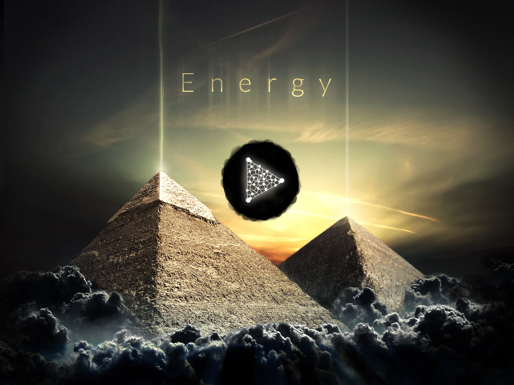 a game about energy, main menu look