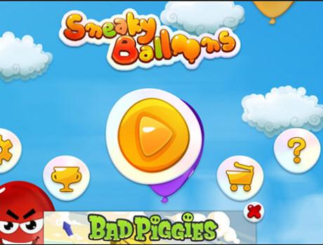 Sneaky Balloons UI
